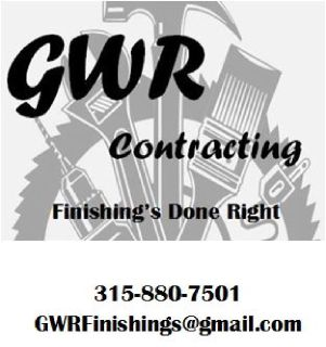 GWR Contracting -- All around Handyman!!