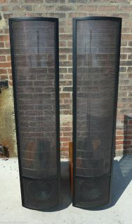 Martin Logan Summit X Reference Electrostatic Stereo Speakers