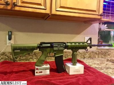 For Sale/Trade: Spikes AR 6.8 SPC OD GREEN mint