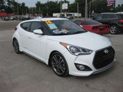 2016 Hyundai Veloster 3dr Cpe Man Turbo R-Spec (White)