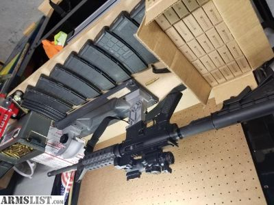 For Sale: BUSHMASTER AR15 PACKAGE