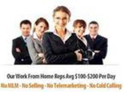 Take Inbound Calls From Home...$600-$1000 weekly