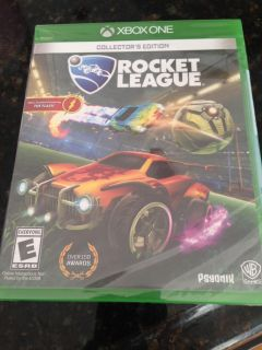 New, unopened Rocket League Collectors Edition for XBox One