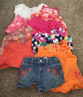 Summer Outfits Lot of 5, Size 3T