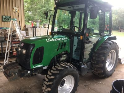 Montana tractor LG 4340c very good tractor with low hrs. 47 hp cab ac and heat!