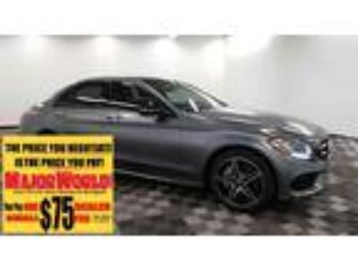 $27888.00 2017 MERCEDES-BENZ C-Class with 41193 miles!