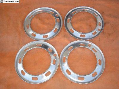 4 Beauty Rings For VW 4 Lug Wheels