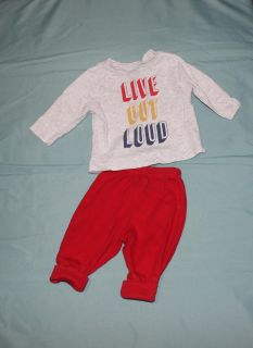 0 - 3 Month Live Out Loud Outfit