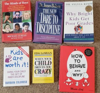 Lot of Parenting books - Take all for $5