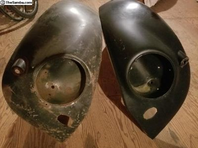 55 to 1957 Oval Bullet Fenders