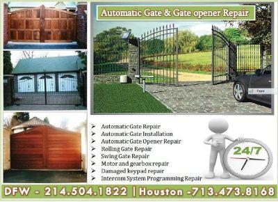 Garage Door Spring, Installation, Automatic Gate Repair | Mesquite 75150, TX $25.95