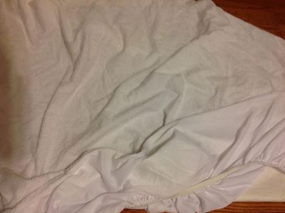 Terry top twin mattress cover