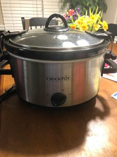 Crockpot Slow Cooker (4 qt)
