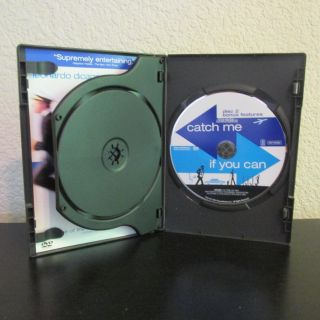 Catch Me If You Can. Two DVD Set. Bonus Features.
