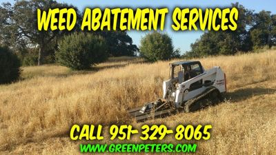 Mikes Weed Abatement and Bobcat Services - Call Us