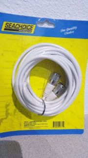 Find Seachoice Coaxial Antenna Cable 20 FT 19771 motorcycle in Englewood, Florida, United States, for US $22.00