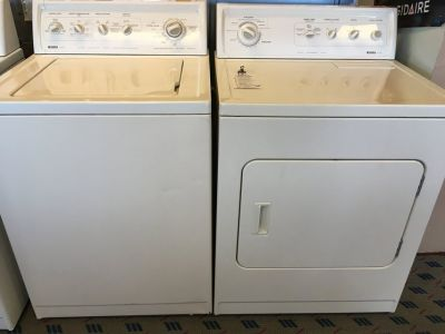 Kenmore Washer and Dryer Pair - USED