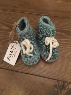 Leather soles size 0-6m