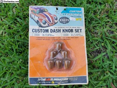 Nos empi wood dash knobs