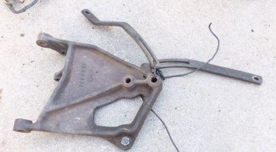 Find 67 68 69 1967 1968 1969 GMC V6 305 351 a/c ac air compressor bracket brackets motorcycle in Orangevale, California, United States, for US $200.00