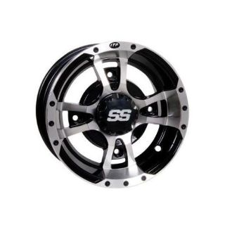 Find ITP SS112 Alloy Front/Rear 14x6 Golf Car Wheel - 1428464404B motorcycle in Marion, Iowa, United States, for US $95.64