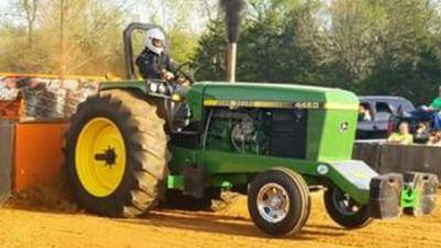 John Deere Hot Farm Tractor.