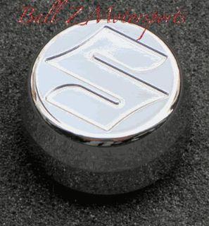 """Buy GSXR 1000 Chrome Engraved """"S"""" Center Yoke/Stem Cap Nut Cover!! 05-06-07-08 2008 motorcycle in Plattsburg, Missouri, US, for US $25.99"""