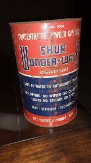 Shur - Wonder Wash Antique Can