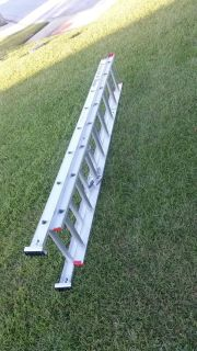 WERNER, Aluminum 16 Foot Step Ladder. ONLY USED ONCE. EEUC.