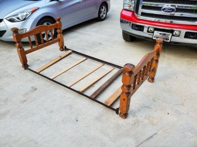 Pine Twin Bed!