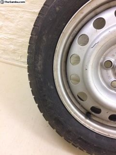 Dunlop SP Winter Sport on VW rims (2001 Eurovan)