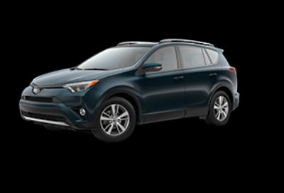 2018 Toyota RAV4 LE Hybrid AWD-i (Galactic Aqua Mica)