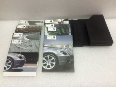 Sell 2007 BMW 530, E60,5-SERIES OWNER'S MANUAL PORTFOLIO,BOOKLET,BUY-NOW OR MISS OUT. motorcycle in Coatesville, Pennsylvania, United States, for US $65.00