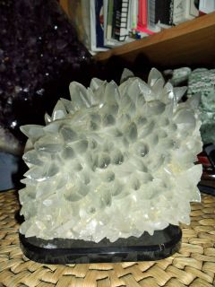 Exceptionally, Gorgeous and Beautiful Large Phantom Calcite Crystal Cluster