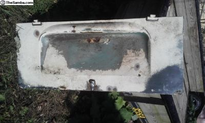 68-71 Bus Engine Lid / Decklid Bay Window