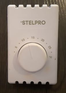 1 thermostat Stelpro was in my condo 2015, change it for electronic one in 2015