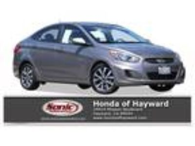 Used 2017 Hyundai Accent Sandstone Gray, 40.5K miles