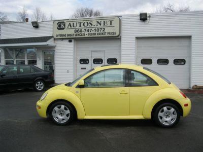 1999 Volkswagen New Beetle GLS 1.8T (Yellow)