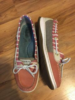 Sperry like new size 9.5