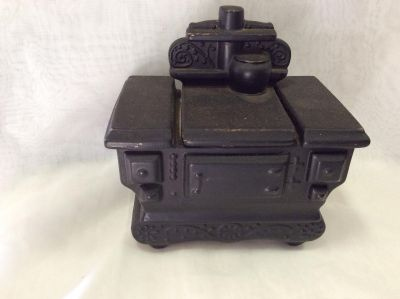 Ceramic canister stove