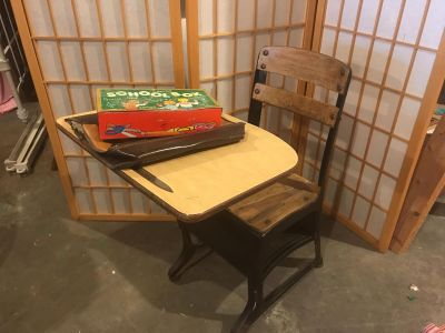 Vintage school Items! All one price.