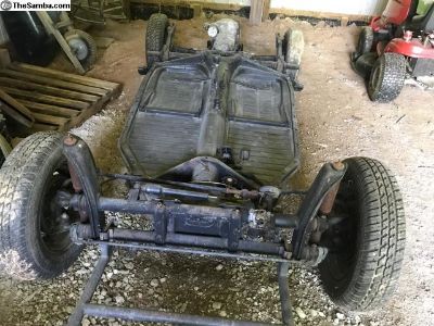 1971 chassis bug good condition