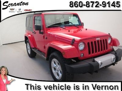 2015 Jeep Wrangler Sahara (Firecracker Red Clear Coat)