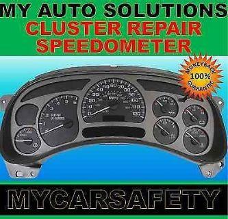 Sell FITS CHEVY CAVALIER INSTRUMENT CLUSTER GAUGE SPEEDOMETER REPAIR REBUILD motorcycle in Duluth, Georgia, United States, for US $49.00