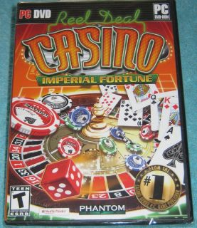 Reel Deal CASINO PC DVD-ROM (Still Sealed)