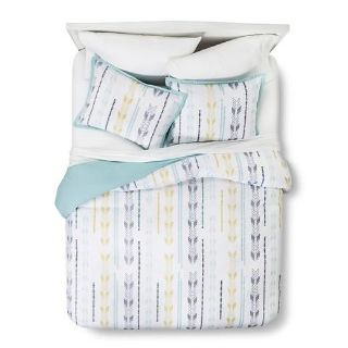 Like new Queen Duvet Cover and 2 pillow covers