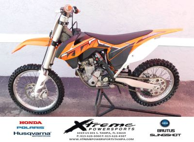 2014 KTM 350 SX-F Competition/Off Road Motorcycles Tampa, FL