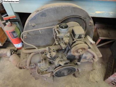 Volkswagen Beetle Early 36 HP Engine