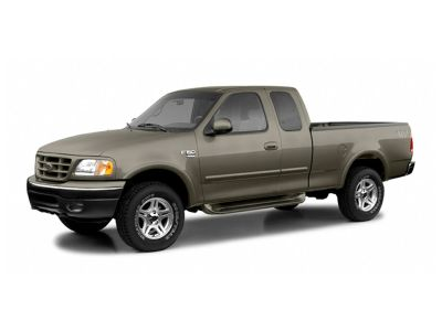 2002 Ford F-150 Lariat (Green)