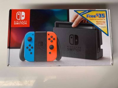 Nintendo Switch (Read Description)